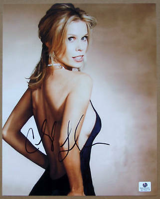 Cheryl Hines Signed Sexy Photo Curb Your Enthusiasm Gai