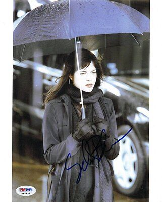 Selma Blair Signed Hellboy Authentic Autographed 8X10 Photo  Psa Dna   H64996