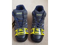 Mens Size 12 Workforce Safety Steel Toe Cap Trainers/Ankle Boots NEW