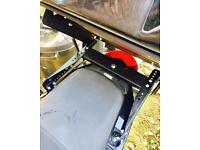 Honda sh125 tilting rack & top box