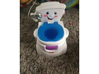 Fisher price interactive potty