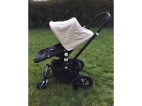 Bugaboo Cam3 Limited edition black frame. Maxicosi infant Pebble carseat also available.