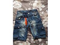 Rawcraft denim shorts