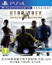 Get Star Trek: Bridge Crew for PS4 VR for just £33.33p!