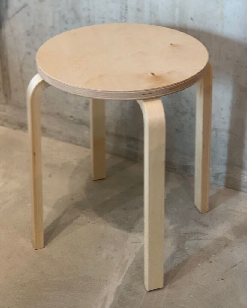 Sensational Ikea Frosta Stool Birch Plywood In Camden London Gumtree Ncnpc Chair Design For Home Ncnpcorg