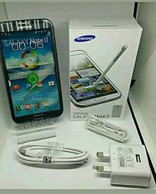 Samsung Galaxy Note 2 * UNLOCKED to all Sims * BRAND NEW BOXED WITH ALL ACCESSORIES