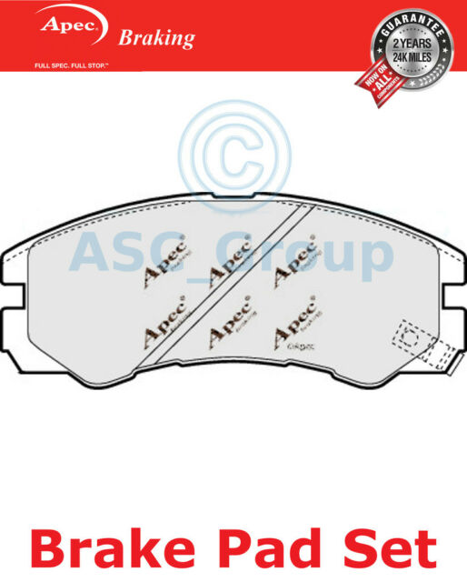 Apec Front Brake Pads Set OE Quality Replacement PAD1036