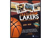 Craigavon Lakers wheelchair basketball club