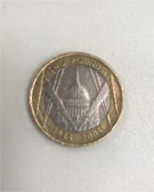 Rare minting error £2 coin St. Paul's cathedral