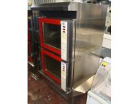 Tom Chandly TC4C weisheu commercial double oven ,