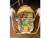 Mothercare Safari Baby Swing x2