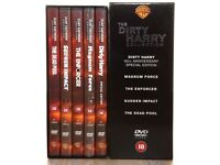 DIRTY HARRY DVD BOX SET - PERFECT CONDITION