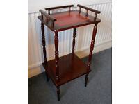 What Not, Display or Plant Stand, Lamp Table