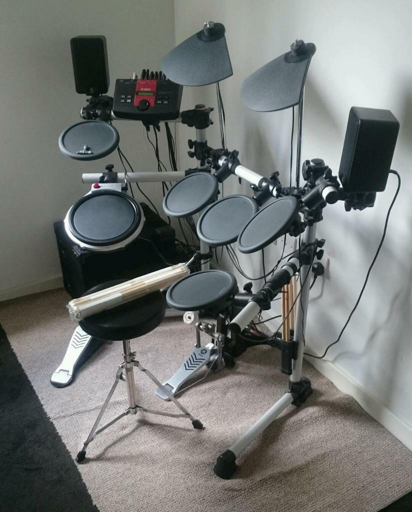 Yamaha dtxplorer electronic drum kit speaker system in for Yamaha electronic drum kit for sale
