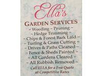 Ella's lady gardening services