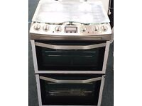 Jhon lewis 60cm wide dual fuel double oven and grill cooker new graded unused