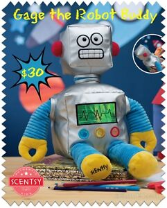 Scentsy Buddy Gage the Robot