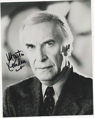 Martin Landau - Ed Wood signed photo