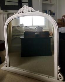 Gorgeous large overmantle mirror As new never used