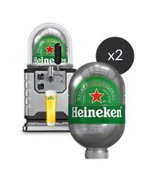 Blade Beer Machine with Dome and 2 x Heineken Kegs - Brand New and Unopenee