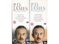 P.D. James - Adam Dalgliesh dvd box sets 1 + 2