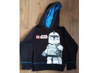 Star Wars Hooded Sweatshirt from Tesco 4-5 years