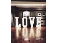 Wedding Hire Northampton - Light Up Letters, Vintage Games and more