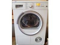 8kg siemens heat pump tumble dryer A++ very energy efficient drying, big money saver