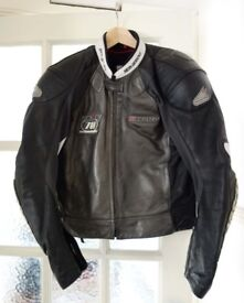 Hein Gericke Two-Piece Leather Motorbike Suit