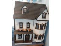 Dolls house 1/2 scale revamped