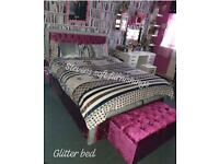 LUXURY GLITTER BEDS BARGAIN PRICES
