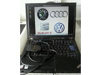 VAGelsawin dealer level and VCDS diagnostic tool for Audi VW Skoda Seat