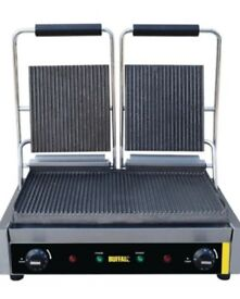 Sold Pending Collection - Buffalo Contact Grill Double Ribbed
