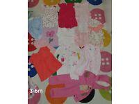 Bundle of clothes 3-6 & 9-12 months