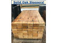 Oak Sleepers