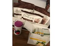 Juice plus shakes boosters and capsules