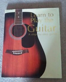 Used hardback Learn to Play the Guitar book