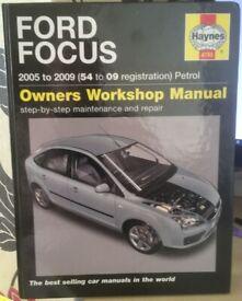 Ford Focus Workshop Manual