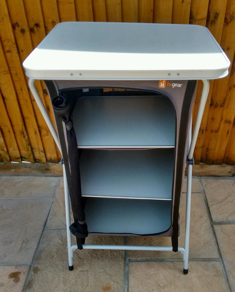 Kitchen Shelf Gumtree: Hi Gear, Elite 4 Shelf Camping Cupboard
