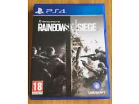 Rainbow Six Siege PS4 Excellent condition