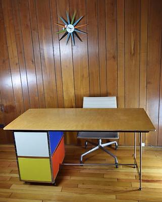 SCARCE VTG MCM 1952 Herman Miller Charles & Ray Eames ESU Desk D20 Knoll Mod for sale  Highland Park