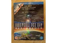 Independence Day - Resurgence (Blu Ray & Digital HD download)