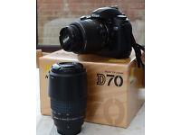 Nikon D70 Twin Lens Kit
