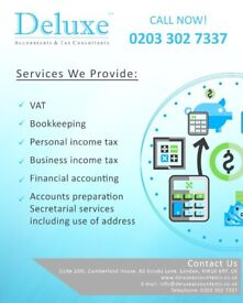 Accountants in London, COVID-19 Support, Tax Return, Bookkeeping, VAT, Company Accounts, CIS Rebates