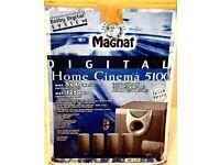 MAGNAT DIGITAL HOME CINEMA 5100 - ACTIVE SUBWOOFER PLUS 5 SPEAKERS