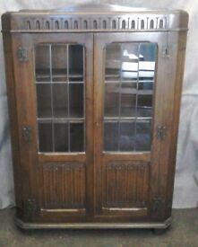 Antique/vintage bookcase/display cabinet