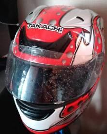 Takachi motorcycle helmet