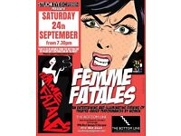 Femme Fatales: Female participants needed for an evening of all-women theatre performances