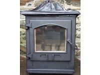 Refurbished Dean Forge 5kw Croft wood burner