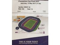 4 half price rugby champions cup tickets 13th may
